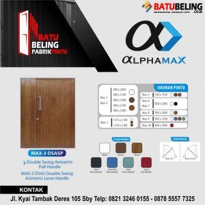 pintu aluminium alphamax