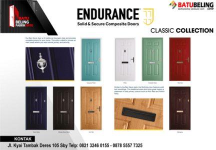 pintu kayu endurance classic