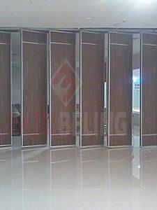 pintu lipat semi peredam 4